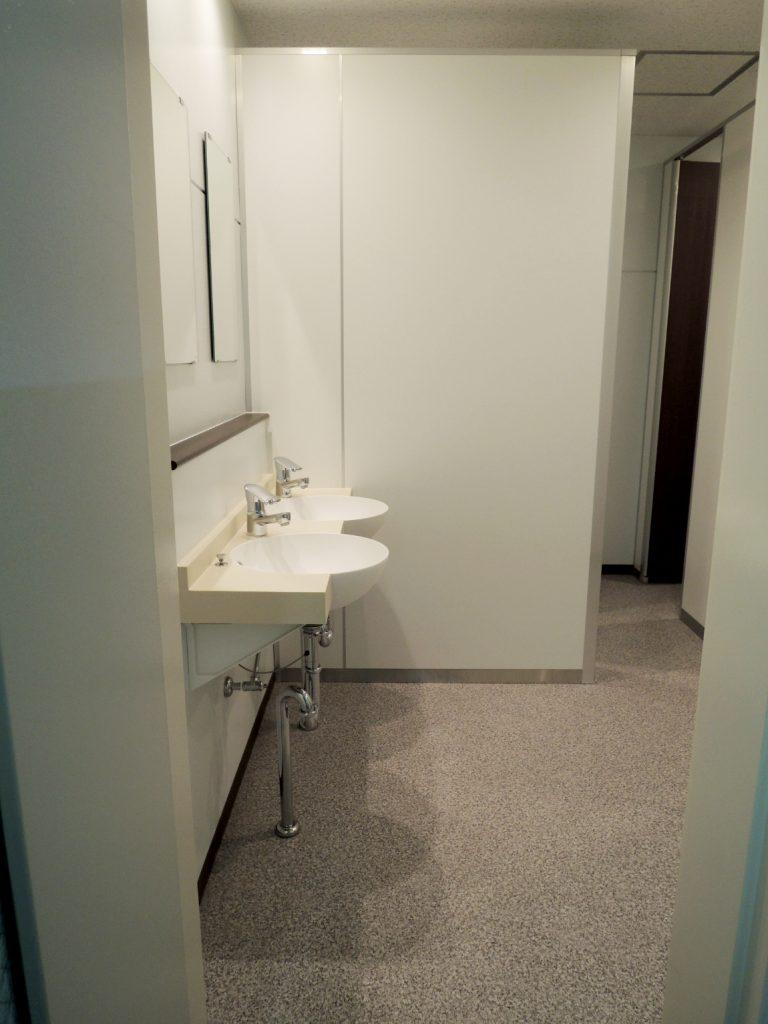 男子トイレから女子トイレへのリフォーム