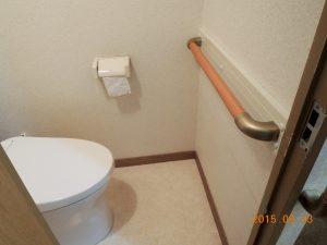 玄関・廊下・トイレ・ユニットバスに手摺取付