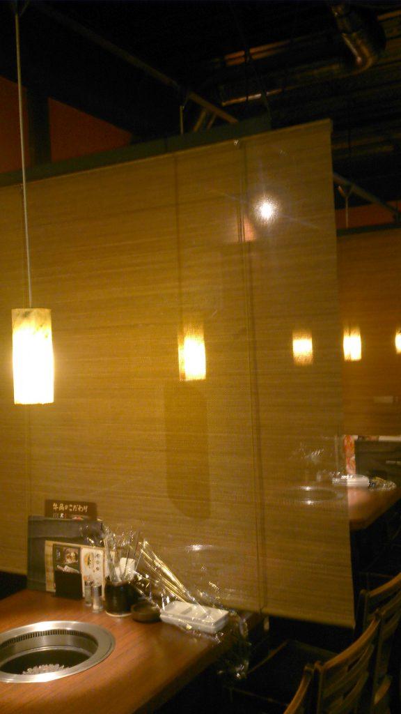 焼肉店:客席を増やすための内装工事