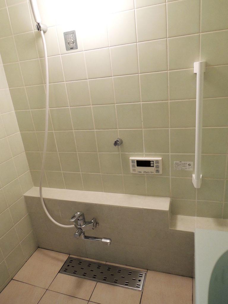 バリアフリー浴室 改修後