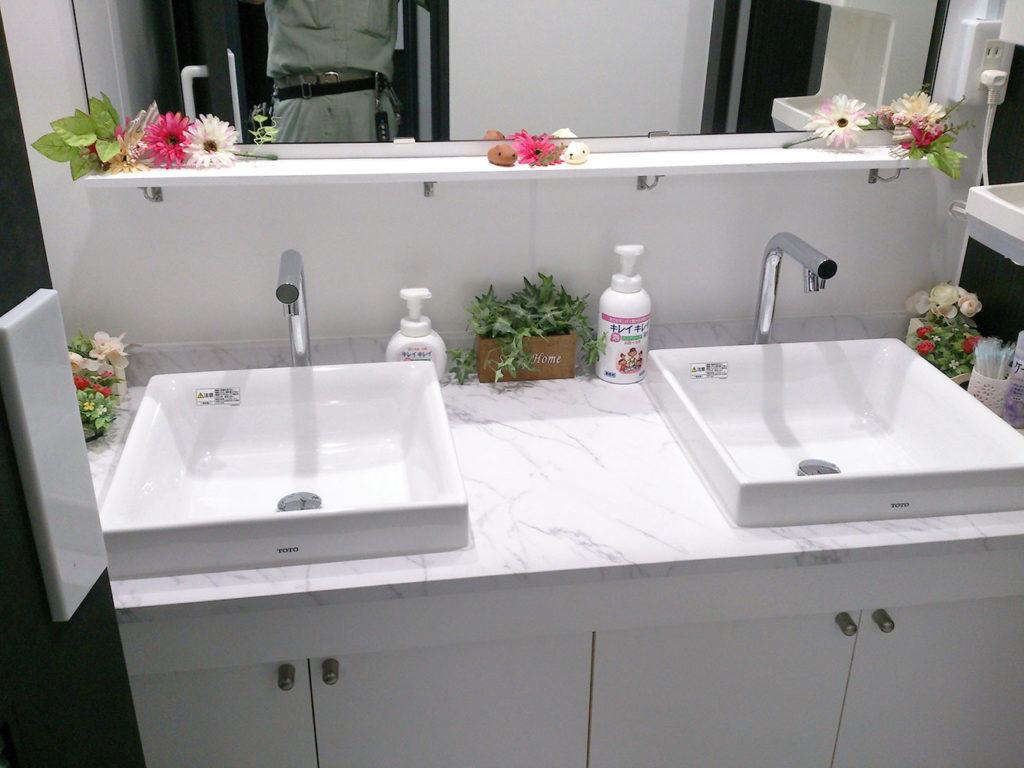 女子トイレ改修後