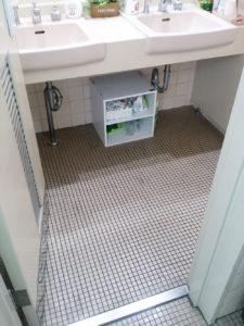 女子トイレ改修前