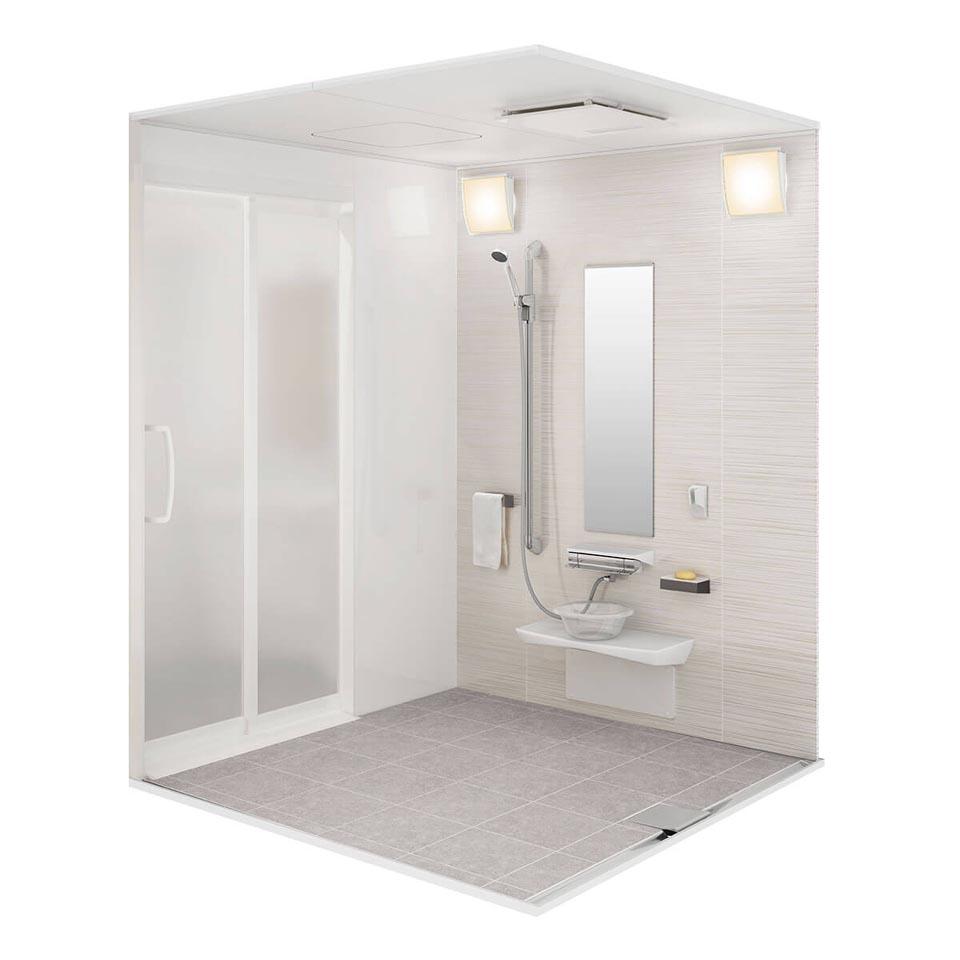タカラスタンダード「ぴったりサイズのシャワーユニット」
