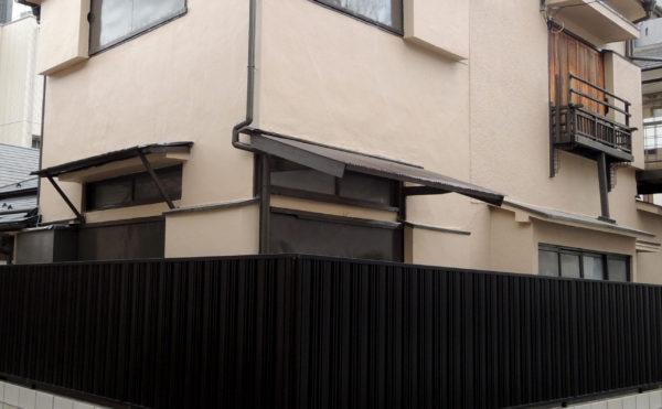 外壁塗装:施工後