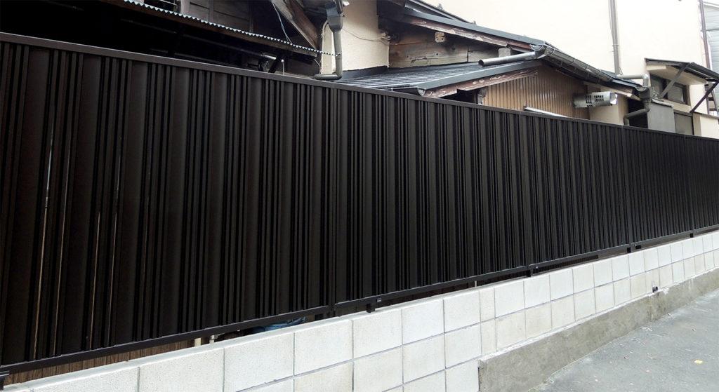 塀の改修:施工後