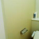 トイレの壁 after